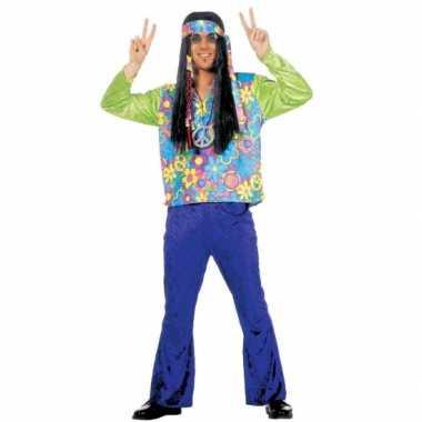 Hippie carnavalspak voor heren