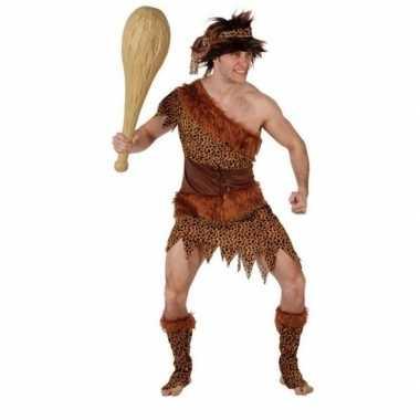 Holbewoner/caveman atouk verkleed carnavalspak heren