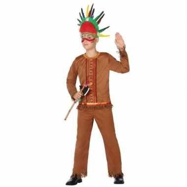 Indiaan/indianen pak/verkleed carnavalspak voor jongens