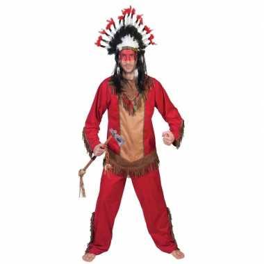 Indiaan lootah verkleed carnavalspak voor heren