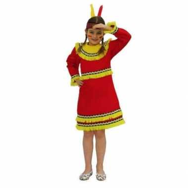 Indianen carnavalspak voor meiden