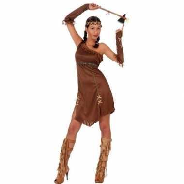 Indianen honovi verkleed pak/carnavalspak voor dames