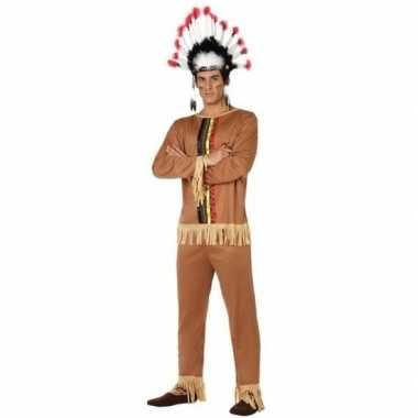 Indianen pallaton verkleed pak/carnavalspak voor heren