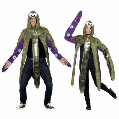 Inktvis carnavalspak voor volwassenen