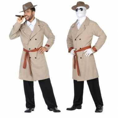 Invisible man/detective verkleed pak/carnavalspak voor heren