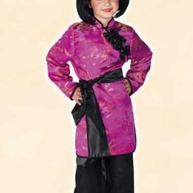 Japanse geisha meisjes carnavalspak
