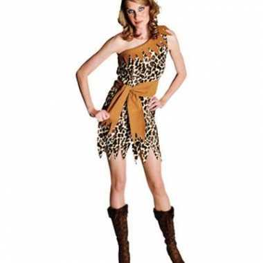 Jungle carnavalspak voor dames