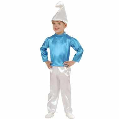 Kabouter verkleed carnavalspak kinderen