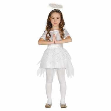 Kerst engel raziel verkleed carnavalspak/jurk voor meisjes