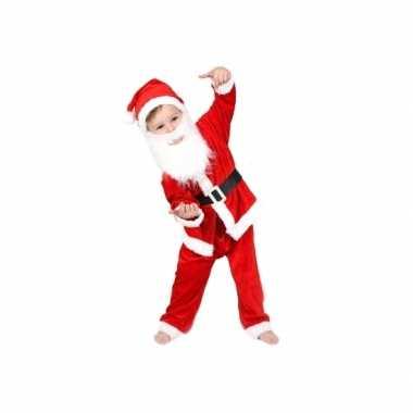 Kerstman carnavalspak voor jongens en meisjes