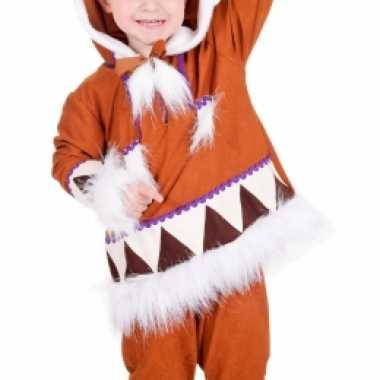 Kids eskimo carnavalspak compleet