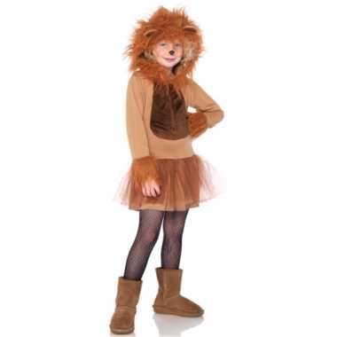 Kinder carnavalspak leeuw