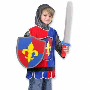 Kinder carnavalspak ridder