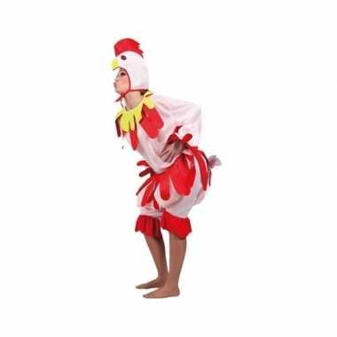 Kip carnavalspak voor volwassenen