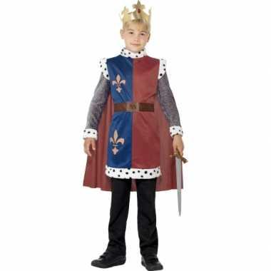 Koning arthur carnavalspak voor kinderen