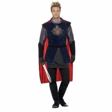 Koning arthur ridder carnavalspak voor heren