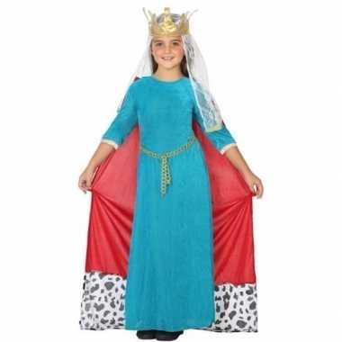 Koninginnen carnavalspak voor kinderen