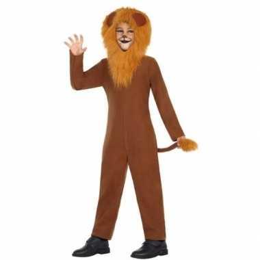 Leeuw leo carnavalspak voor kinderen