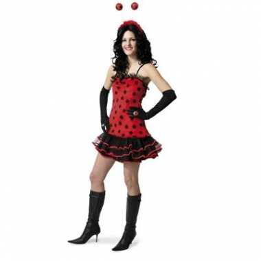 Lieveheersbeestje carnavalspak dames