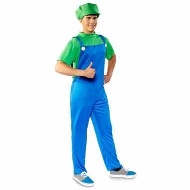 Luigi heren carnavalspak