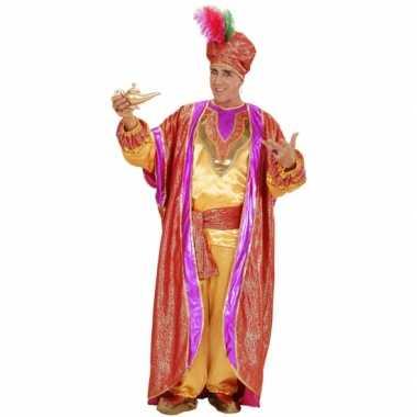 Luxe sultan carnavalspak voor heren