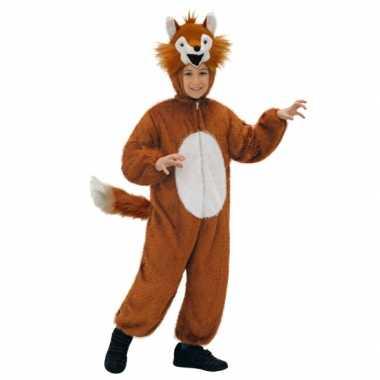 Luxe vos carnavalspak voor kids