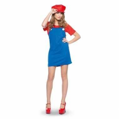 Mario dames carnavalspak