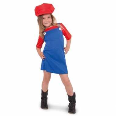 Mario meisjes carnavalspak
