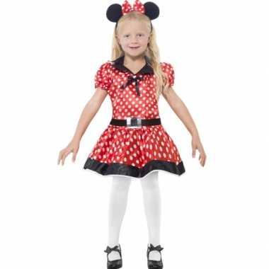 Meisjes meisjes muis carnavalspak