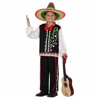 Mexicaanse senor carnavalspak voor jongens