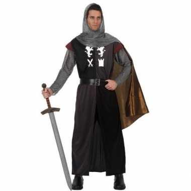 Middeleeuws ridder verkleed carnavalspak voor heren