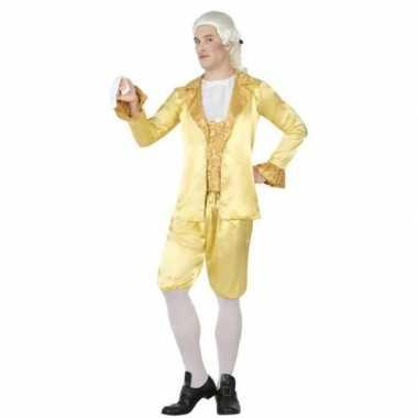 Middeleeuwse lakei verkleed carnavalspak voor heren