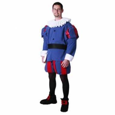Middeleeuwse prins carnavalspak voor heren
