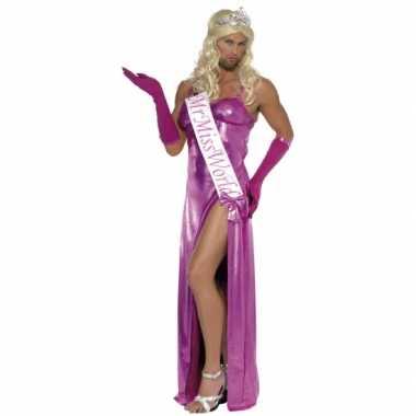 Miss world carnavalspak heren