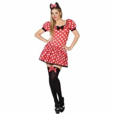 Muis/mouse verkleed carnavalspak/jurk voor dames