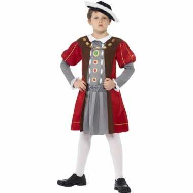 Musketier carnavalspak voor jongens