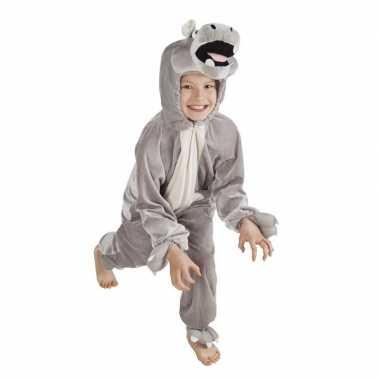 Nijlpaard carnavalspak voor kinderen