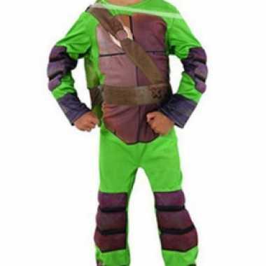 Ninja turtle carnavalspaks voor jongens