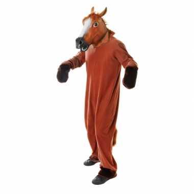 Paarden carnavalspak volwassenen