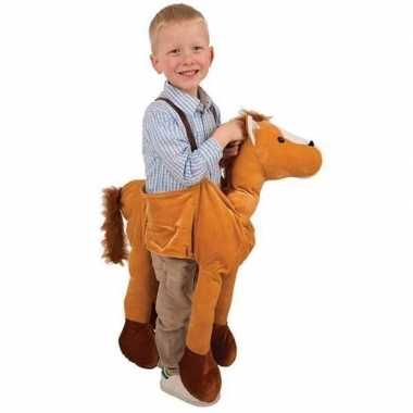 Paarden instap carnavalspak voor kids