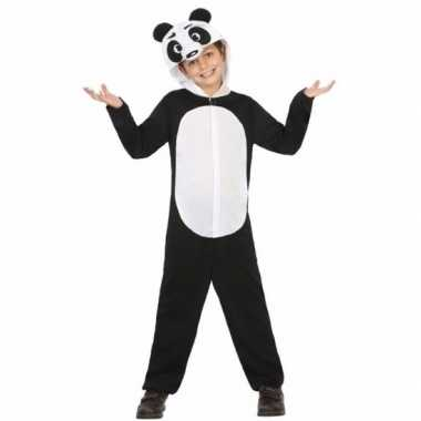 Panda wu wen carnavalspak voor kinderen