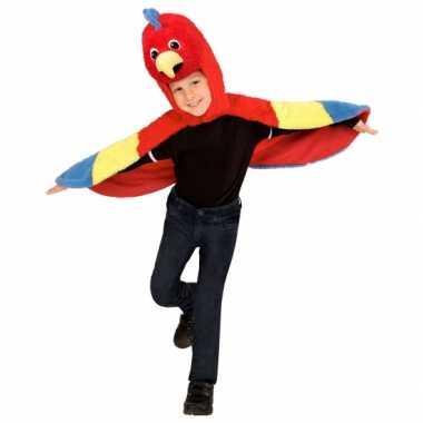 Papegaai carnavalspak voor peuters