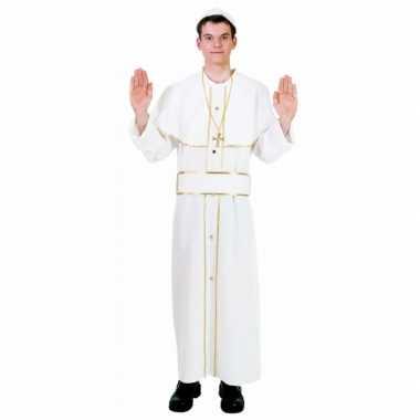 Paus carnavalspak voor volwassenen