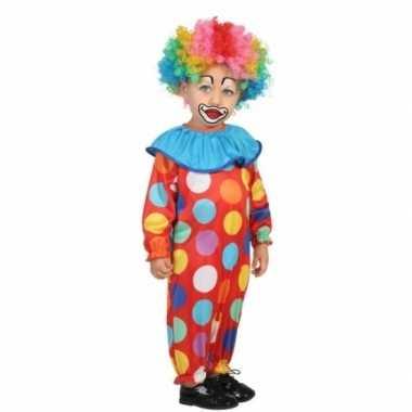 Peuter carnavalspak clown