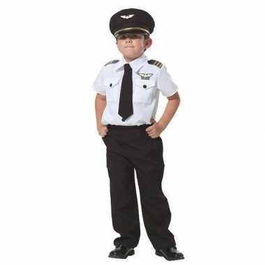 Piloot verkleed carnavalspak voor jongens