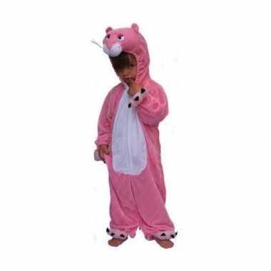 Pink panter carnavalspak kinderen