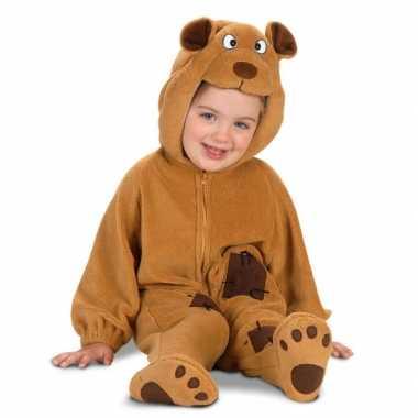 Pluche beren carnavalspak voor babys