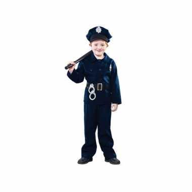 Politie agent carnavalspak voor kinderen