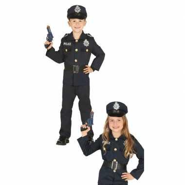 Politie agent verkleed carnavalspak voor jongens/meisjes