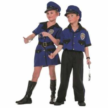 Politie carnavalspak voor meiden